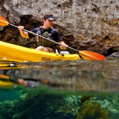 Kayaker_Painted+Cave_Under+Over