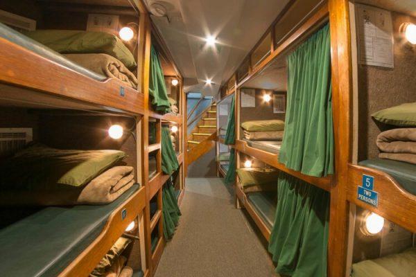 boat bunkhouse