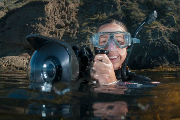 Snorkeling with a camera