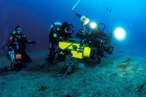 diving videography