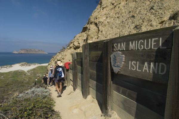 San Miguel Island in the Channel Islands
