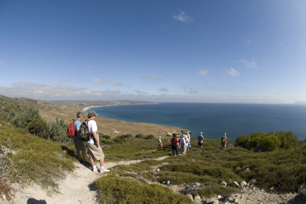 Hike on one of the channel Islands